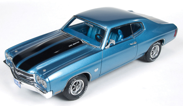 AWR1133 - Auto World 1970 Chevrolet Chevelle SS Astro Blue