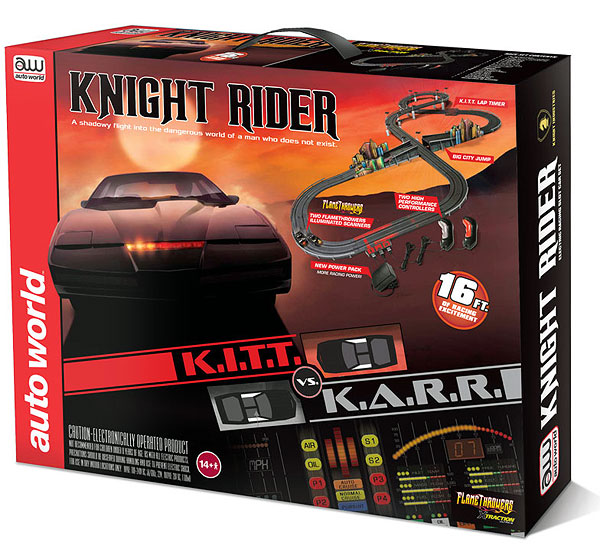 SRS306 - Auto World Knight Rider KITT VS KARR Slot