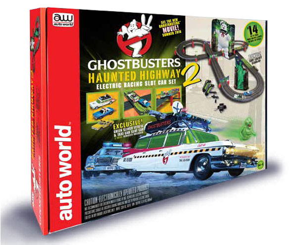 SRS317 - Auto World Ghostbusters Haunted Highway 2 Slot Car
