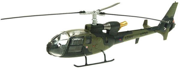 24002 - Aviation 72 Westland Gazelle XZ310 Helicopter British Army
