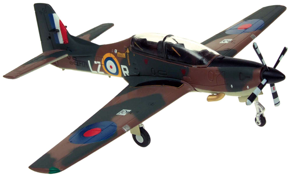 27004 - Aviation 72 Short Tucano RAF Spitfire Scheme LZR