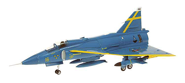 42003 - Aviation 72 Saab Viggen BLA Petter Swedish Air