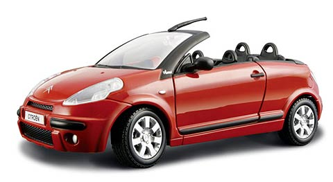 bburago diecast citroen c3 pluriel convertible. Black Bedroom Furniture Sets. Home Design Ideas