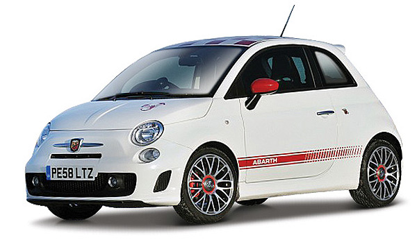 21057WT - Bburago Abarth 500 Essesse