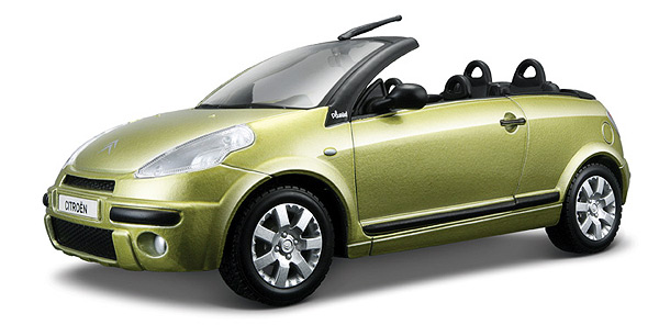 bburago diecast citroen c3 pluriel cabriolet. Black Bedroom Furniture Sets. Home Design Ideas