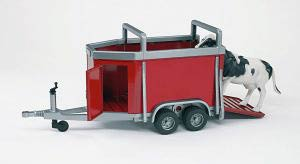 02029 - Bruder Cattle Trailer