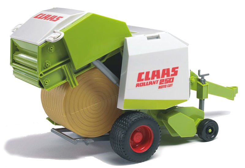 02121 - Bruder Claas Rollant 250 Roto Cut Round