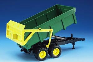 02210 - Bruder Green Dump Wagon High Impact ABS
