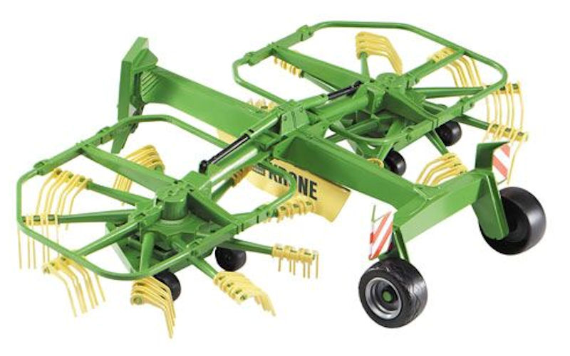 02216 - Bruder Krone Dual Rotary Swather_Swath Windrower High