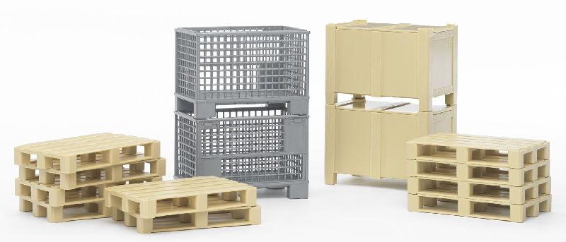 02415 - Bruder Warehouse Logistics Set 2 Mesh Boxes
