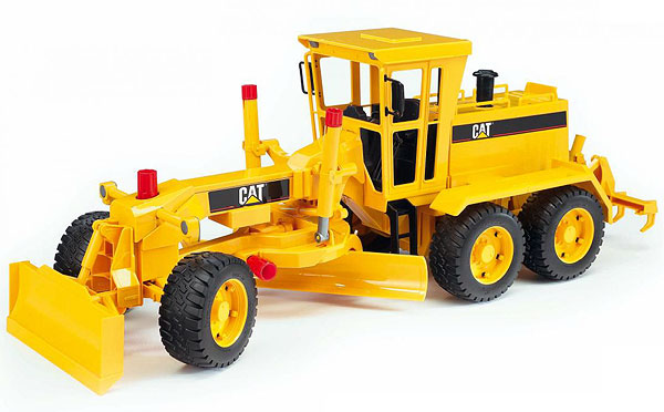 02437 - Bruder Caterpillar Grader Sandbox High Impact