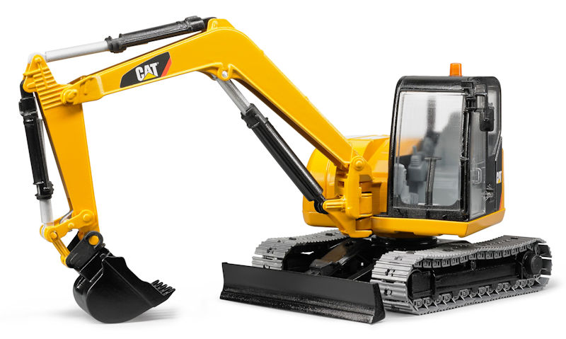 02457 - Bruder Cat Mini Excavator High Impact ABS