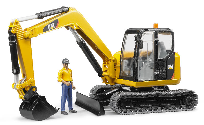 02467 - Bruder Cat Mini Excavator
