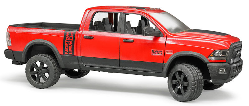 02500 - Bruder RAM 2500 Pickup Truck Power Wagon