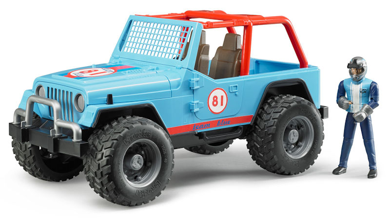 02541 - Bruder Jeep Cross Country Racer