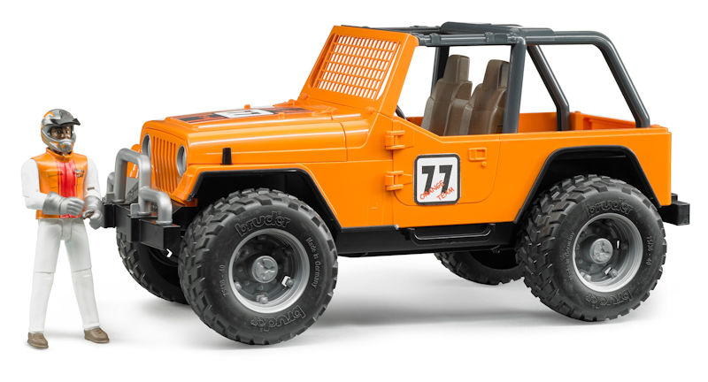 02542 - Bruder Jeep Cross Country Racer