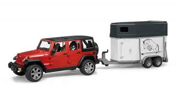 02926 - Bruder Jeep Wrangler Unlimited Rubicon