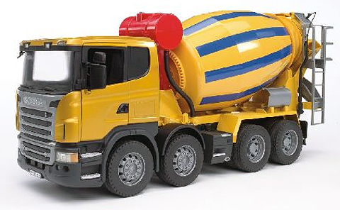 03554 - Bruder Scania R Series Cement Mixer Truck