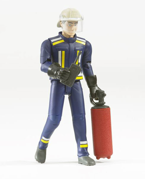 60100 - Bruder Fireman with Accessories Bruders Bworld Series