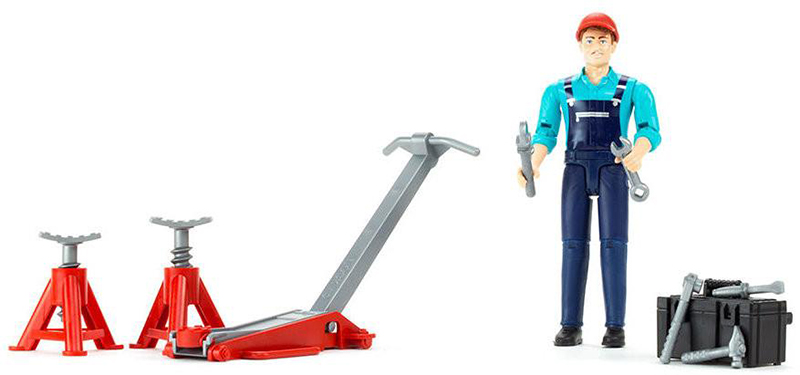 62100 - Bruder Male Mechanic Figure