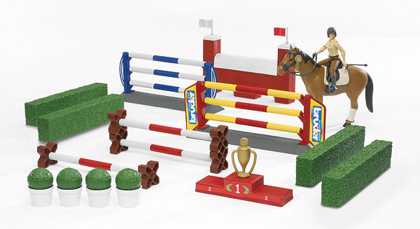 62530 - Bruder Great Horse Jumping Course