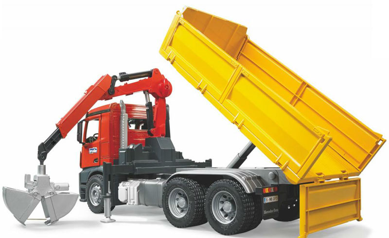 Bruder Construction Toys : Bruder toys mercedes benz arocs construction truck