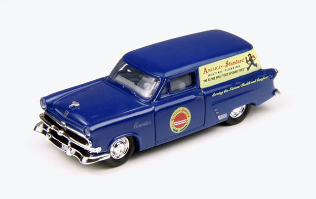 30325 - CMW American Standard Plumbers Vehicle 1953 Ford Courier