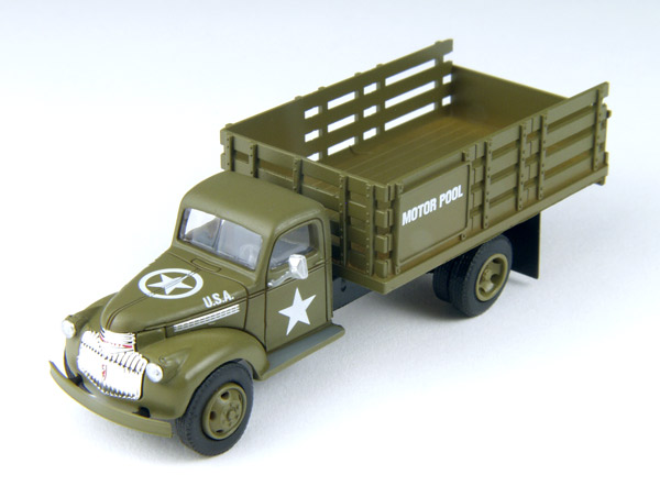 30465 - CMW US Army 1941_46 Chevrolet Stake Bed