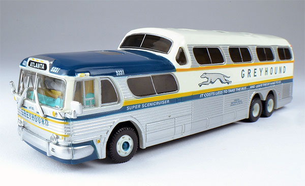 Introduction. Scenicruiser is the name and the registered trademark which The Greyhound Corporation applied to a specific type of highway coaches used in intercity service throughout the USA. The first Scenicruiser entered the Greyhound fleet in , and the last one retired from active service at Greyhound about