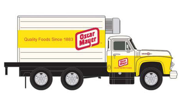 50358 - CMW Oscar Meyer 1954 Ford Box Truck