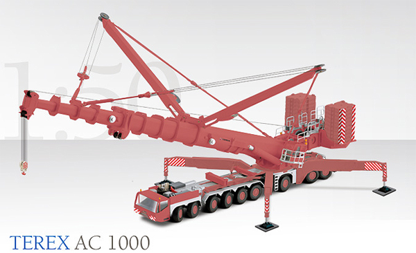 Rigante Telescopic Mobile Cranes : Conrad integrated terex ac telescopic mobile crane