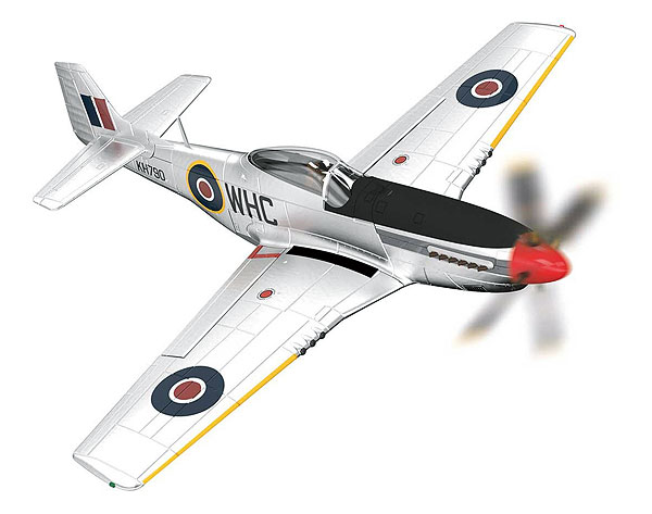 AA27703 - Corgi North American Mustang MkIV Werner Christie