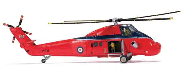 AA37609 - Corgi Westland Wessex HCCMkIV Helicopter RAF Queens