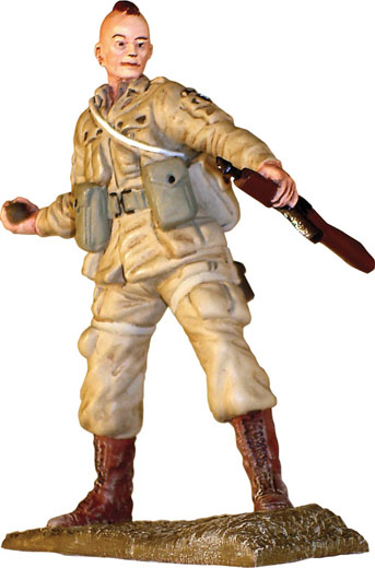 US59113 - Corgi WWII Paratrooper Figure 101st Airborne Screaming