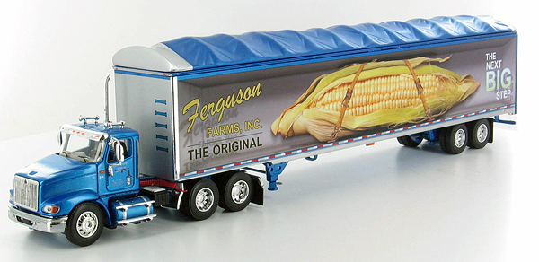 32582 - Die-Cast Promotions DCP Ferguson Farms International 9100i Day Cab and