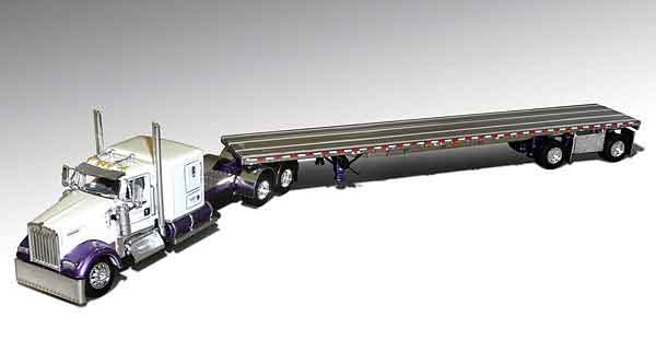 32901-X - Die-Cast Promotions DCP Chuck Swanson Pure Attitude Kenworth W900