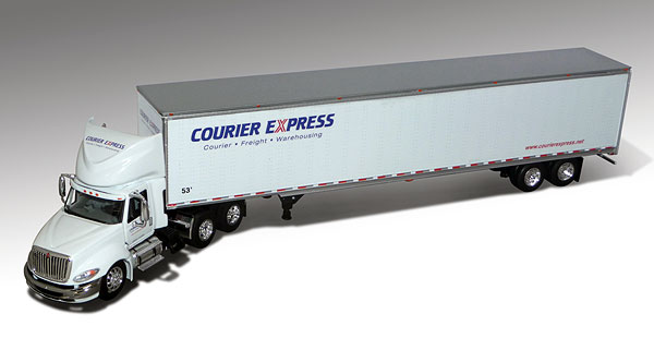 32924 - Die-Cast Promotions DCP Courier Express International Prostar Day Cab