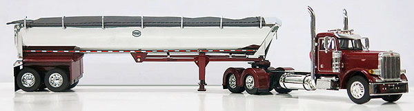 33159 - Die-Cast Promotions DCP MAC Trailer Peterbilt 379 Day Cab