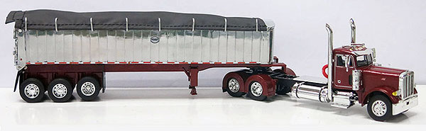33160 - Die-Cast Promotions DCP MAC Trailer Peterbilt 379 Day Cab