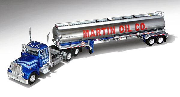 33172 - Die-Cast Promotions DCP Martin Oil Co Peterbilt 379 Daycab