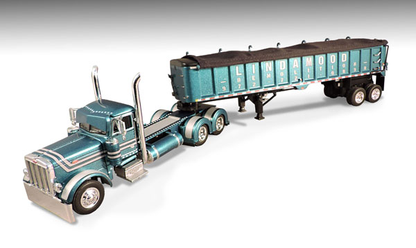 33642 - Die-Cast Promotions DCP Lindamood Demolition Peterbilt 379 Day Cab