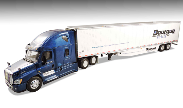 33711 - Die-Cast Promotions DCP EJ Bourque Express Freightliner Cascadia Evolution