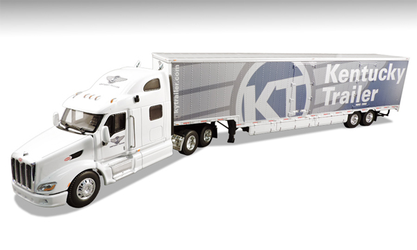 33829 - Die-Cast Promotions DCP Kentucky Trailer Technologies Peterbilt 587