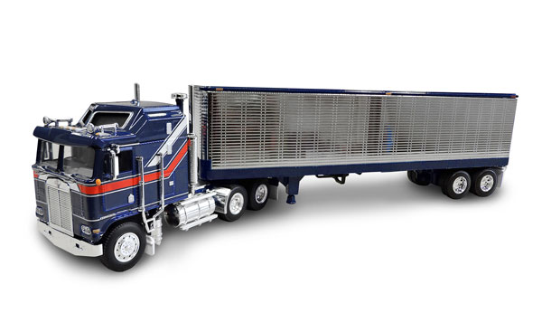 33859 - Die-Cast Promotions DCP Liberty Edition Kenworth K100 Aerodyne COE