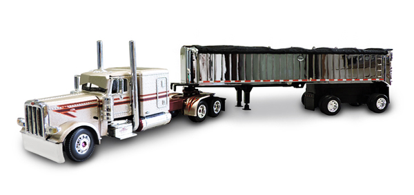 33887 - Die-Cast Promotions DCP JTC Transport Peterbilt 389