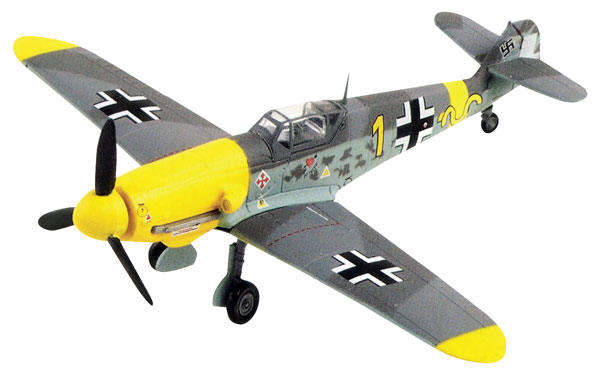 DEAG0001 - Deagostini Messerschmitt Bf 109 F4 German Fighter