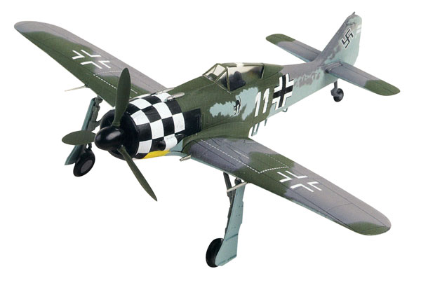 DEAG0002 - Deagostini Focke Wulf Fw 190A 6 German Fighter