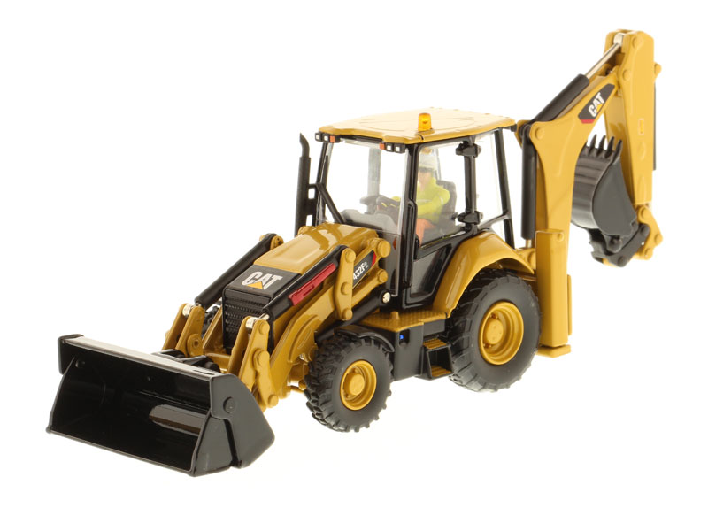 85249 - Diecast Masters Caterpillar 432F2 Backhoe Loader High Line