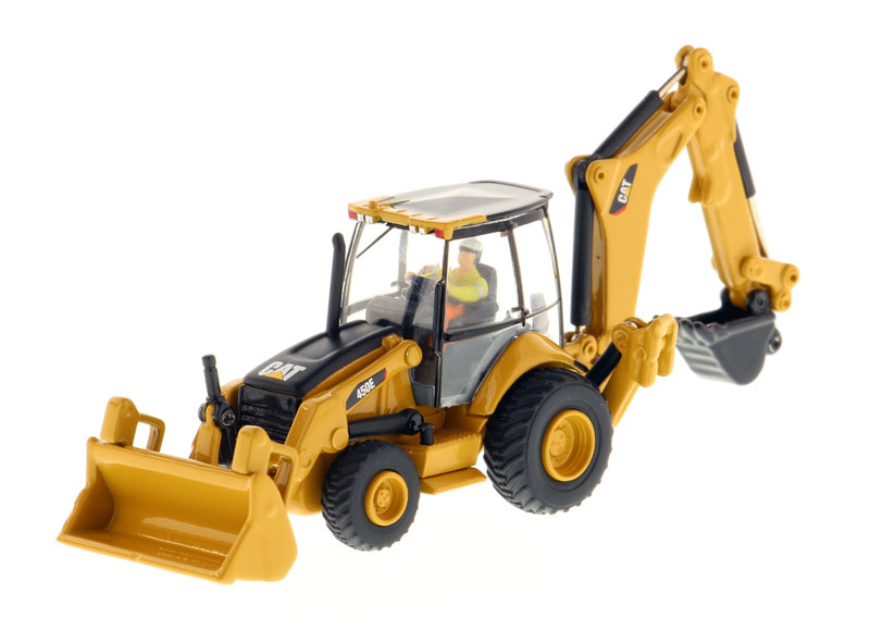 85263 - Diecast Masters Caterpillar 450E Backhoe Loader High Line