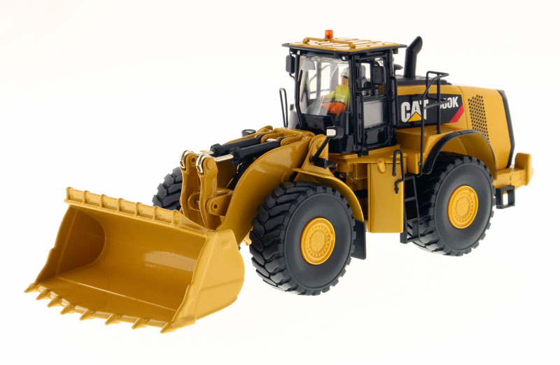 85296 - Diecast Masters Caterpillar 980K Wheel Loader Rock Configuration High